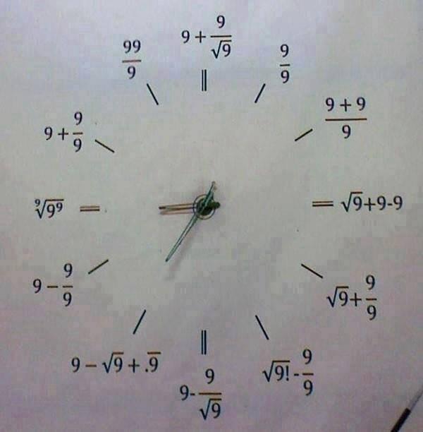 It's half past... .. 3 should just be ¬9 6 should be ¬9!