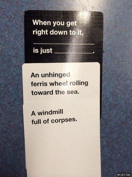 It's true. . fa. -rais wheele rolling toward the sea. A windmill full of - enjolras