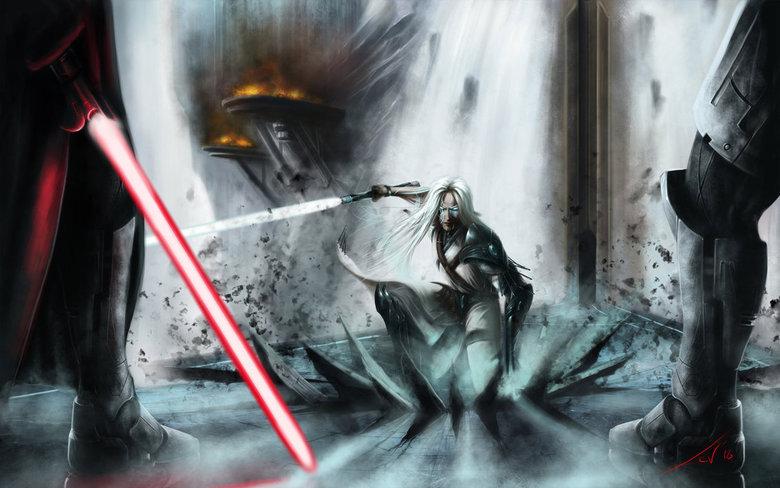 jedi. .. That's no Jedi...