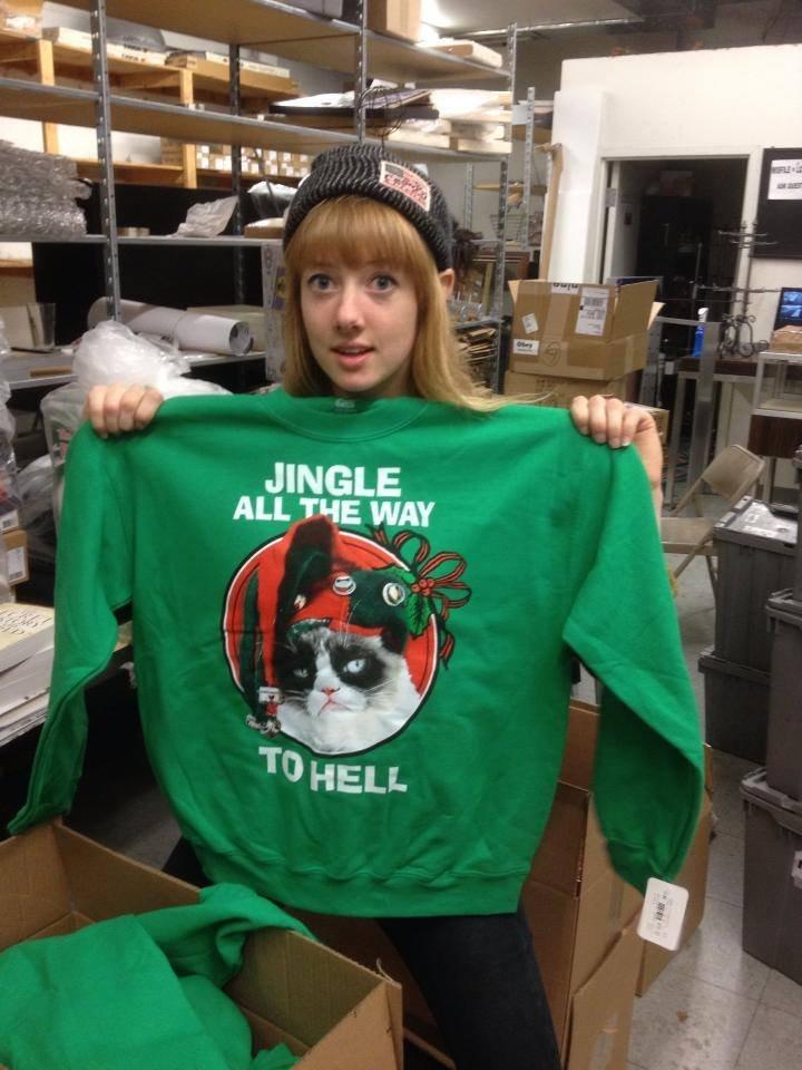 Jingle all the way to hell. .. bitch looks like link