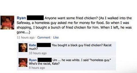 KFC nigga!. . Ito. ran_ Anynoe want same Med ? we the hewas mahouts ago Camment. I lol'd. Thumb for you, sir.