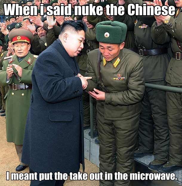 Kim Jon Problems. .