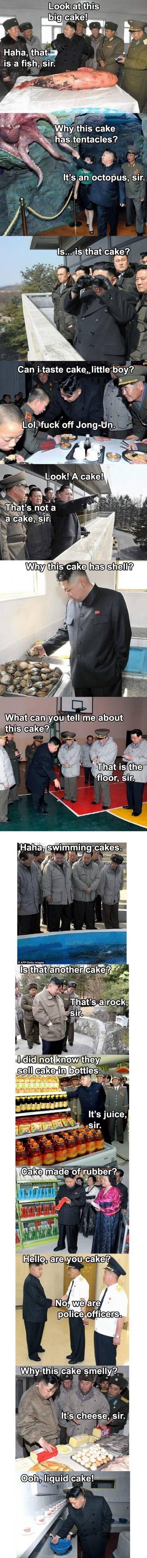 kim-jong-un-cake. no oc north korea, best korea.. Re post, best post