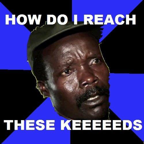 kony 2012. found it on 4chan 3 days ago. HOWIDO I REACH tly an . tait I THESE I-(