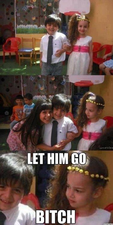 Let Him Go. .