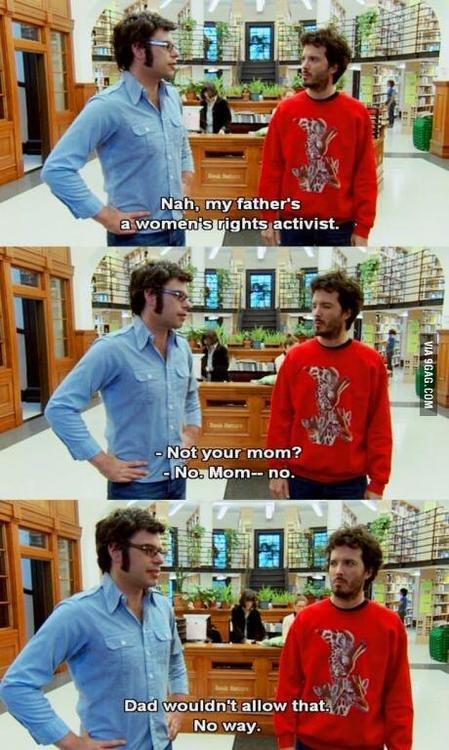 mY Father is an activist.. . ls gigety.. activist. feist, Mcom- no. 1. -gameon mom?. Ahhhh hahahahahahahahaha , bu dum dis