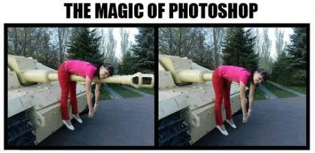 Magic of PHOTOSHOP!. .. The magic of Reposting