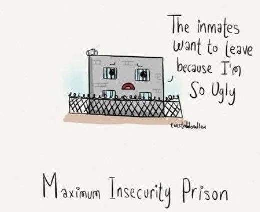 Maximum insecurity…. .