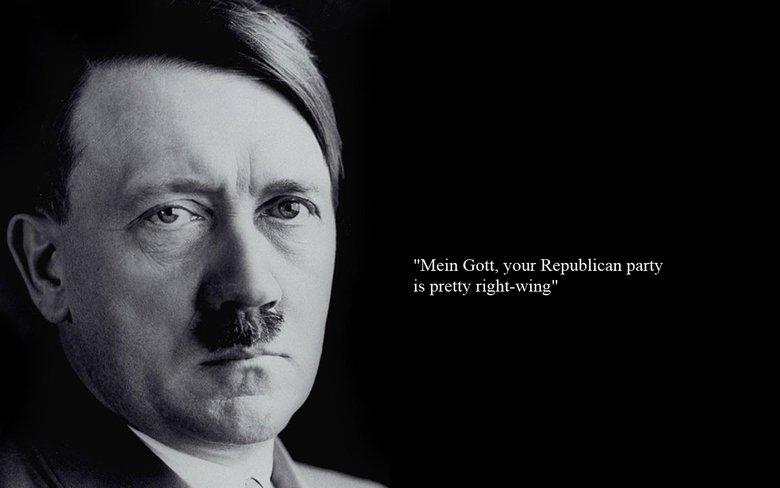 "Mein Gott. . Main Gott, your Republican party is pretty rightyking"""