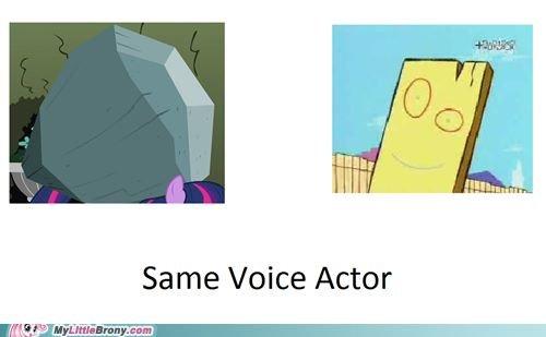Mind Blown. . Same Voice Actor. Tom is best pony