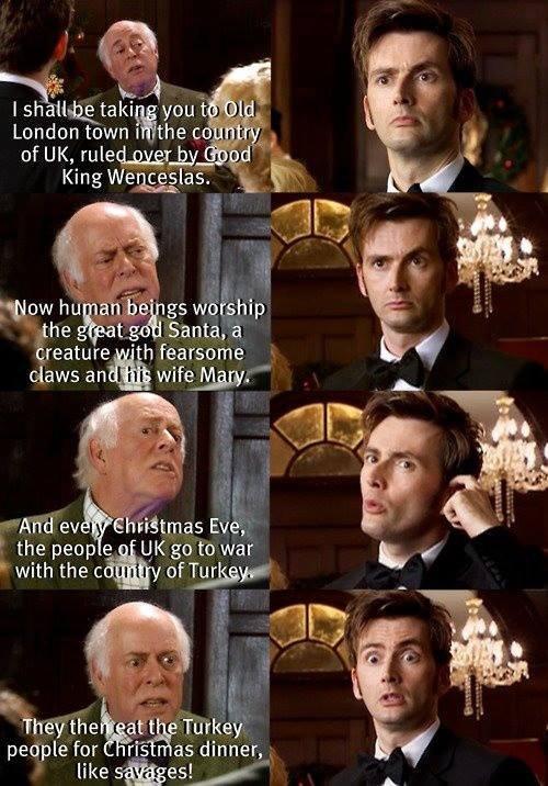 Misunderstanding history. . tie gs warship the the peep e [hi go to war London tenure arethe : . I m' -. of UK, ruled, battlin, Iain a kingni, / at tr- Santa, a