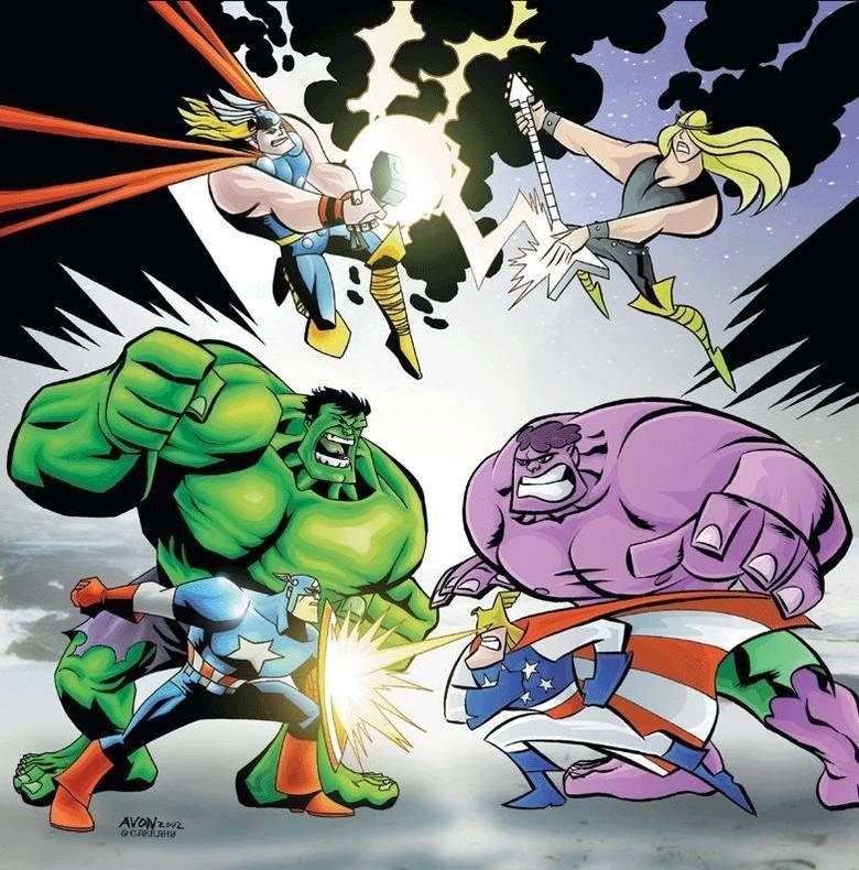 murr vs. morr. .. So dexter is Ironman's equivalent