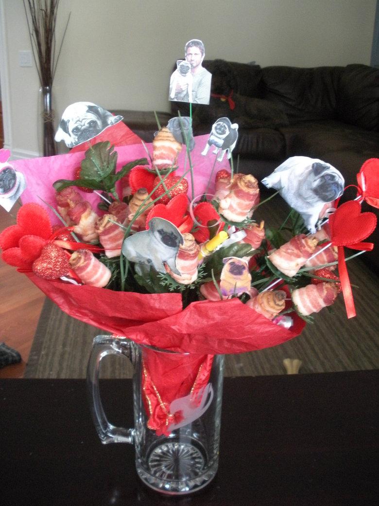 My girlfriend glorious gift. .. MOAR BACON