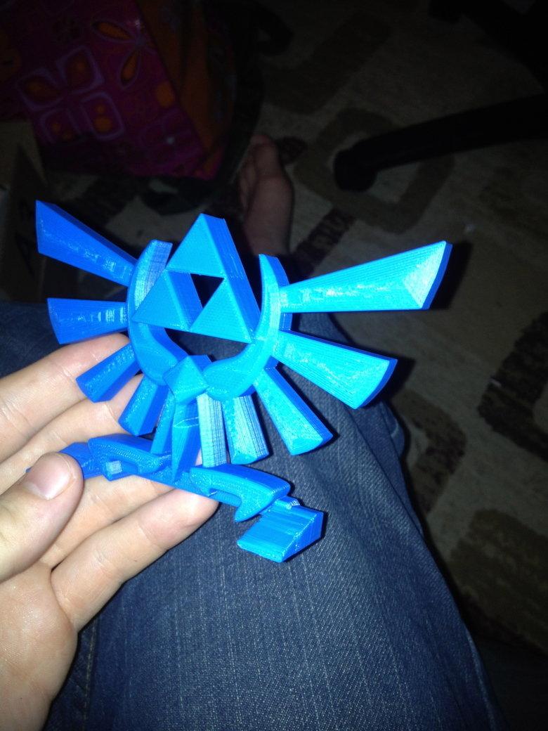 My LoZ Desk Prop. My uncle's 3D printer printed this as well. badassery. Criticism appreciated. my custom Deadpool belt buckle: funnyjunk.com/channel/deadpool/M
