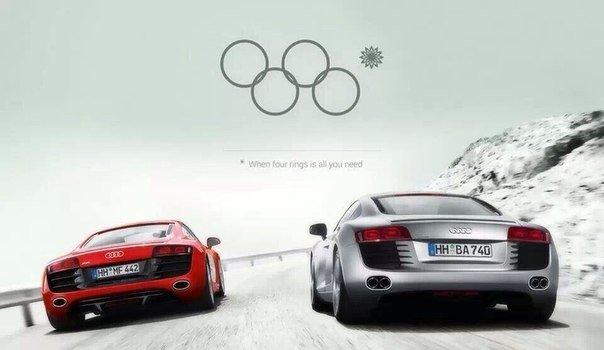 New Audi ad. .. riiiiiings
