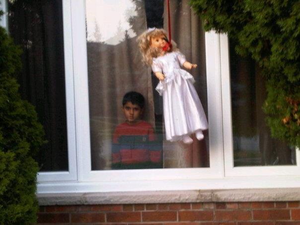 New neighbor.... .. YOU'RE NEXT