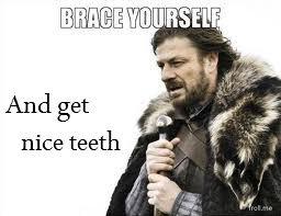 Nice teeth. just a quick idea I had. get a brace, and get prettier teeth. (it's worth it).