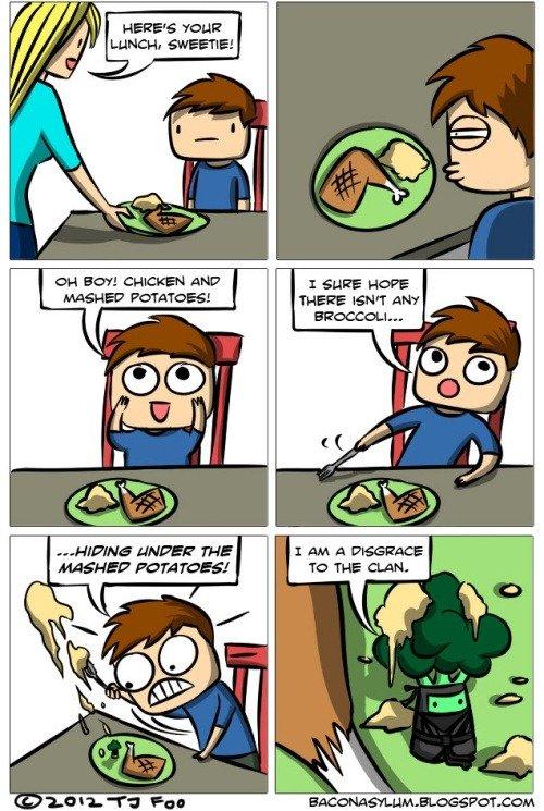 ninja broccoli. . Home :iii' AND POTATOES! Lieut FAFE. I have always loved broccoli.