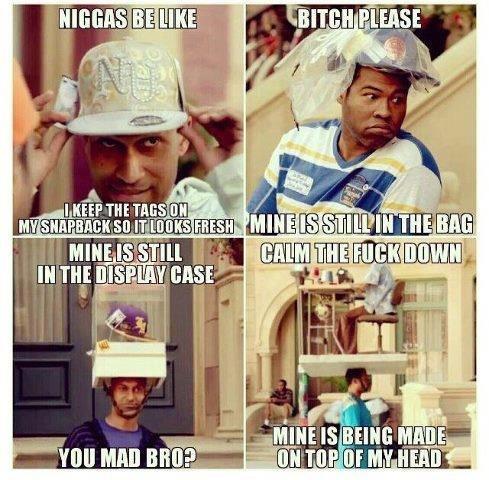 Nittle liggars. .. So many hats jokes to make, so little time