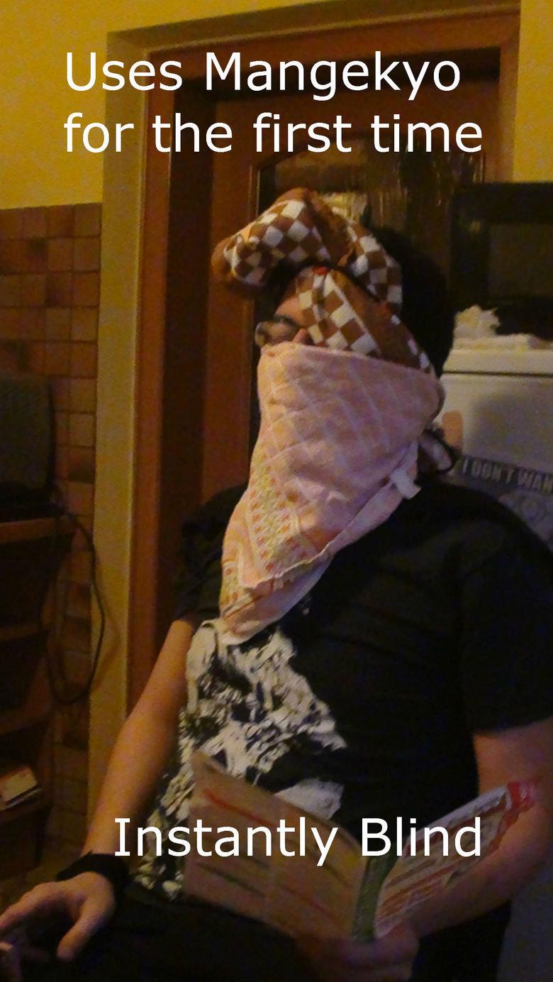 Nonsense Ninja. Muhahahahaha.. 'cause he looks EXACTLY like Kakashi with the Mangegyo Sharingan!!