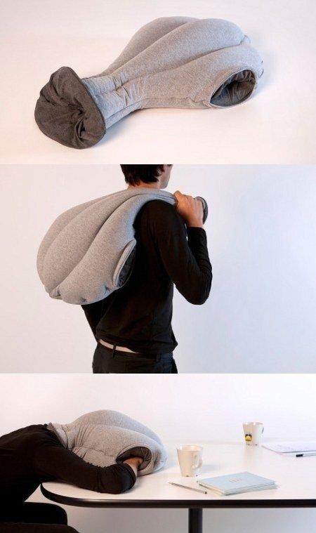 Office Sleeping Bag. .. Looks like a suffocation bag