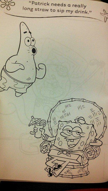 Oh Spongebob. .. here you go