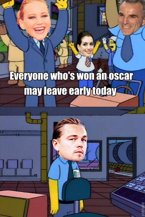 Oscars. .. I truly don't understand how he has never won an Oscar.