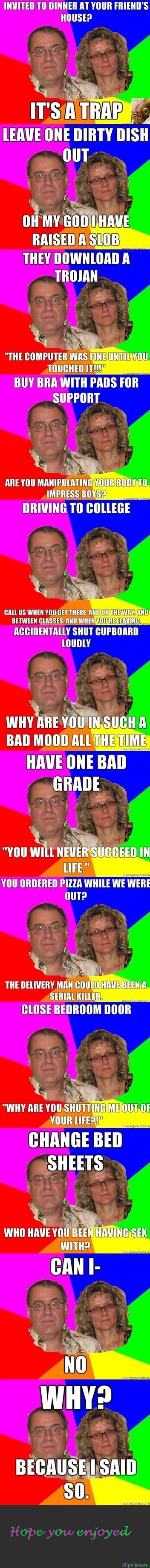 Paranoid Parents Comp. Part 2 is up funnyjunk.com/funny_pictures/2036170/Paranoid+Parents+Comp+2/ Part 3 funnyjunk.com/funny_pictures/2036983/Paranoid+Parents+C