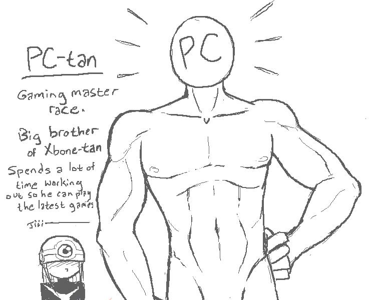"PC-tan showcase. PC-tan. ire brother"" . f tke, latest -:53: -is"