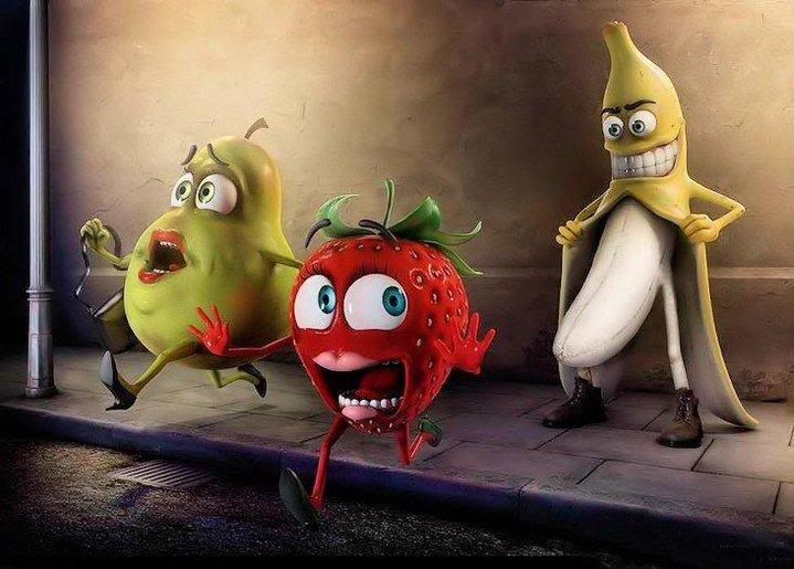 Perverted Banana. lol RUNN!!!.