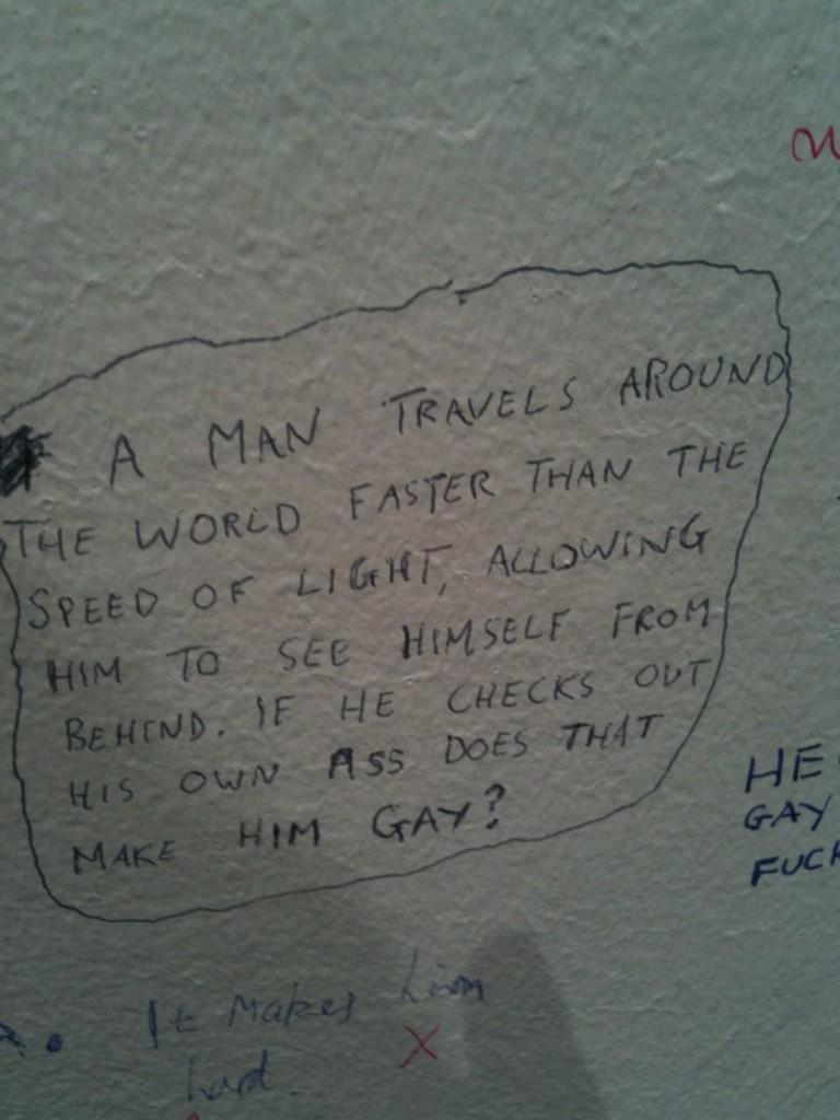 Philosophical Uni Toilet. Discuss... University of Northern Iowa?