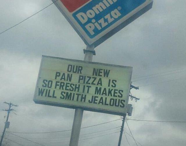 Pizza. will smith.