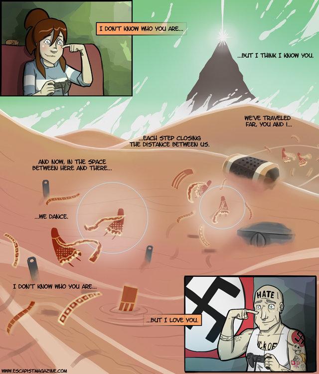 playing online. .. Korra likes nazis