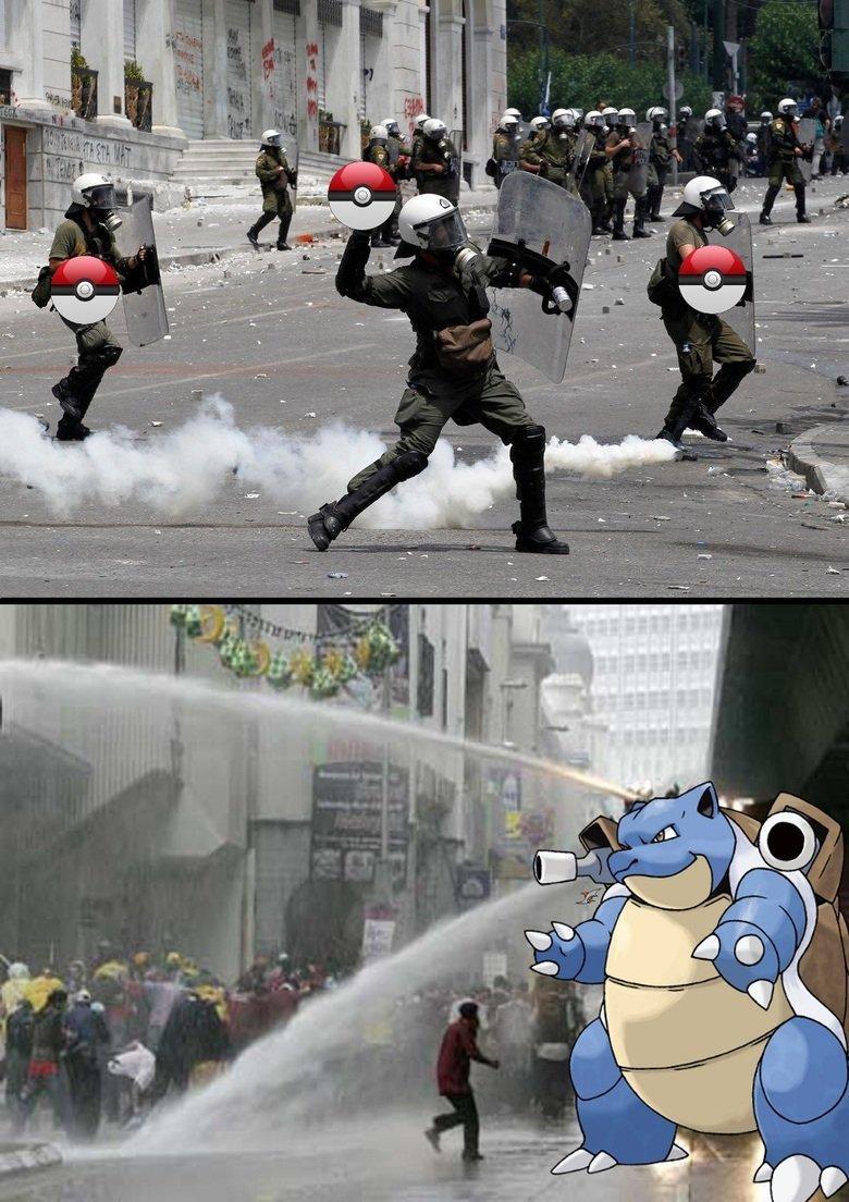 pokemon control division. .. Master of photoshop.
