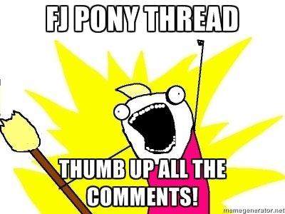 Pony Thread. Coltegen...