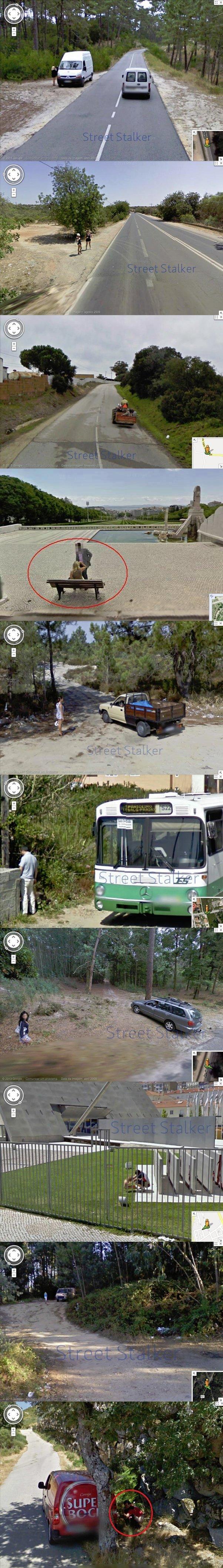 Portugal on Google Street. . p. all