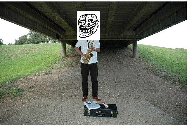 problem. under the bridge.. like like the bridge, this joke is over my head...