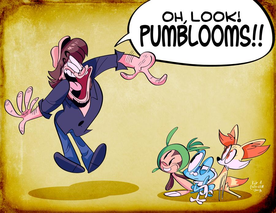 pumbloom. pumbloom is my favorite pokemon.