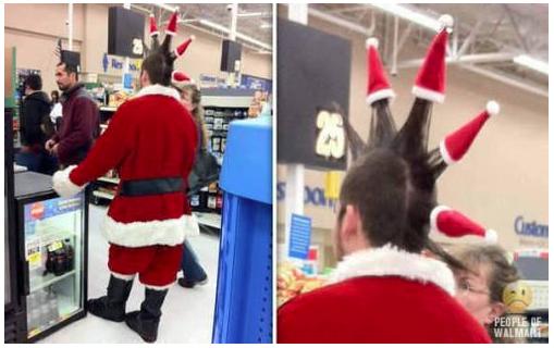 Punk Santa. .. Wait, wat?