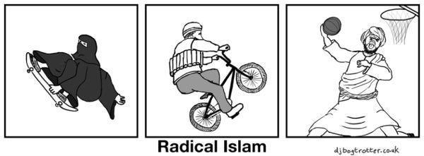 Radical Islam. Source: Imgur. Radical Islam