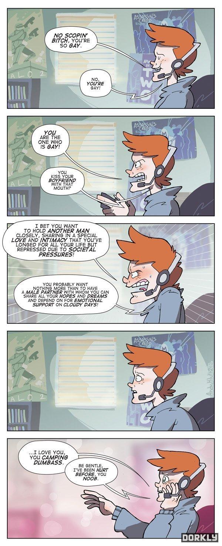 real gamers. repost-.. gaymers