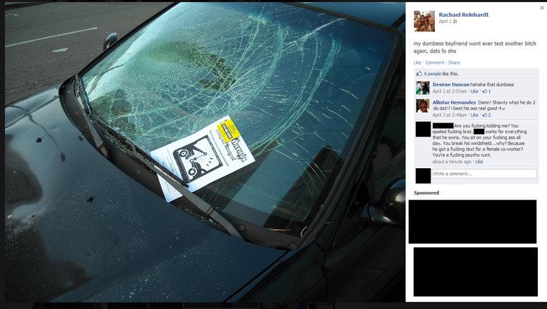 retarded facebook bitch. . Rachael Reinhardt April KI my ' :: ever' text anither hitch again, data ta she Like III: - -Share til E ! like this. Desiree Dunadan