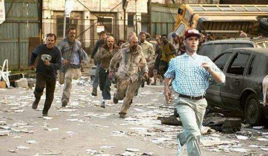 Run forest Run. walking gump.