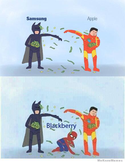 samsung vs apple. .. No spiderman, picking up the money won't bring Uncle Ben back.