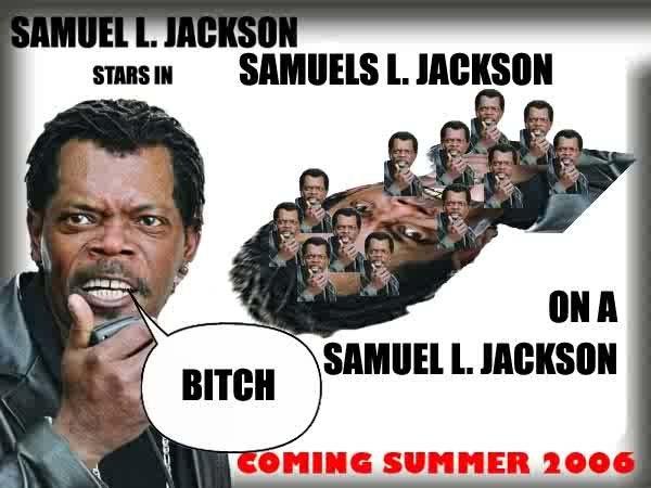 Samuel L. Jackson. In Samuel L. Jackson. jall l. lall} I(