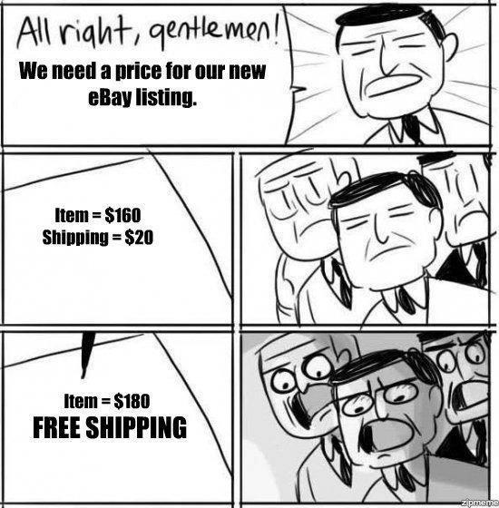 scumbag shipping. Hey funnyjunk. Item = will Mulit FREE SHIPPING