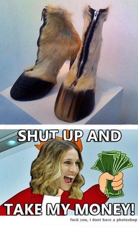shut up and take my money. www.youtube.com/watch?v=383L_FuV0F0. fru: k Hun, i tront have. u phototshop. HEY GUYS1!!! JESSICA PARKER IS A HORSE LOL!!!1 THUMBS PLEASE.