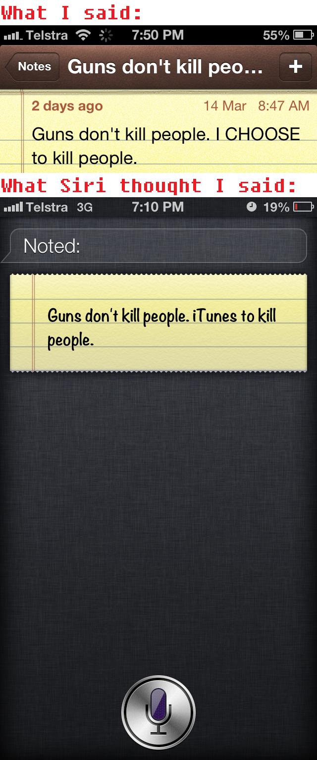 Siri, why you Remix my Orders?. .