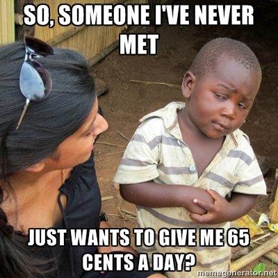 Skeptical 3rd World Kid. .