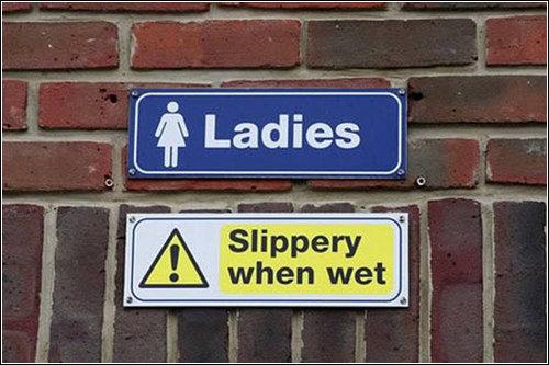 slip 'n slide. .